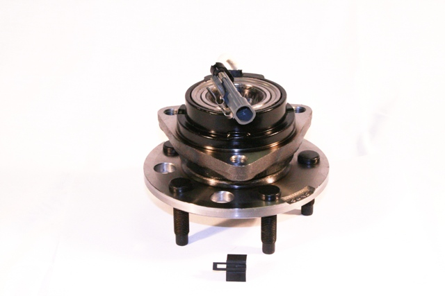 A typical wheel hub assembly