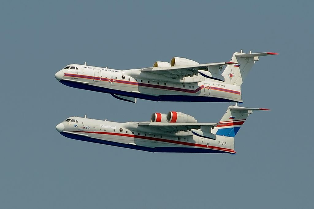 1//250 Beriev Be-200 Altair Russian Amphibious Flying Boat Rare Deagostini New