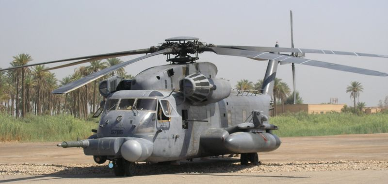 MH-53M In Iraq Summer 2004