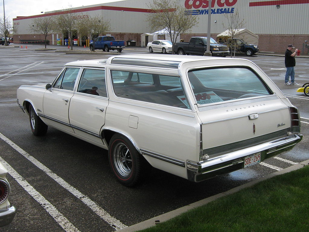 Rear view of a 1965 Vista Cruiser