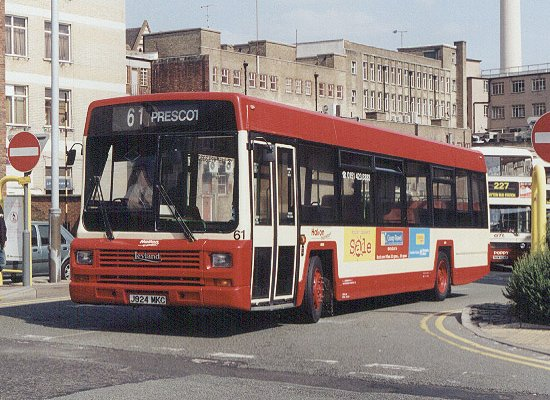 Leyland Lynx bus in Liverpool