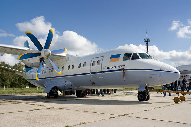 Antonov An-140 - Hostomel Airport, 2008